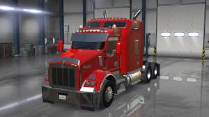 new kenworths kenworth t800 1 6 x new american truck simulator mods ats