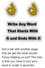 What R Memes - 25 best memes about words that start with r words that start