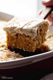 gooey cinnamon carrot poke cake julie u0027s eats u0026 treats