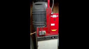 heated parts washer cabinet home made heated automatic parts washer youtube