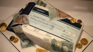 money cake designs cheque book and money birthday cake bakealous