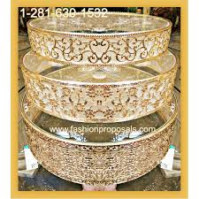 gold wedding cake stand filigree and glass cake stand dessert stand wedding cake showcase