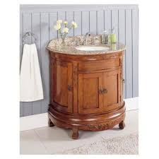 Bathroom Vanities Granite Top Lanza Wf6745 36 Half Moon Bathroom Vanity Granite Top Vanity