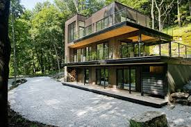 Chalet Houses Dreamy Lakeside Modern Chalet In Quebec U0027s Forested Landscape Youtube