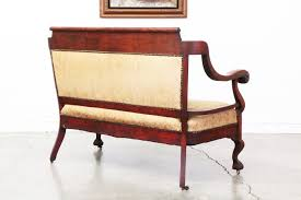antique empire style sofa vintage supply store