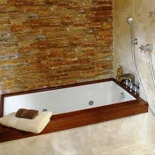 Bathtub And Wall One Piece Bathtubs Idea Awesome Deep Tub Shower Combo Deep Tub Shower