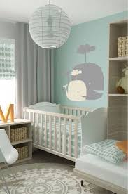 pleasing baby nursery ideas with large curtain and small white