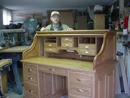 Free Wood Office Desk Plans by Abner Cutler Norm Shows You How To Build A Roll Top Desk Part 1 Of