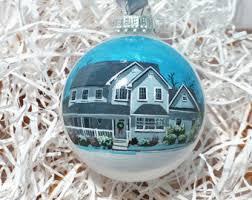 custom house ornament etsy