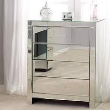 venetian mirrored 1 drawer nightstand dunelm mill frandy u0027s