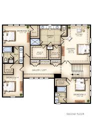 Half Bath Floor Plans Glade Plan New Home Floor Plans In Libertyville Il