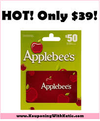applebee s gift cards run 50 applebee s gift card just 39 today only while