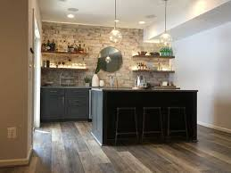 can i put cabinets on vinyl plank flooring why vinyl planks are the best flooring for basements