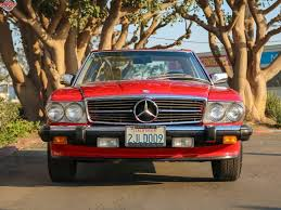 Chequered Flag Marina Del Rey 1988 Mercedes Benz 560sl For Sale 2043116 Hemmings Motor News