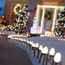 Homemade Light Decorations Top 46 Outdoor Christmas Lighting Ideas Illuminate The Holiday
