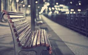 cityscapes bench depth of field wallpaper 1920x1200 12061