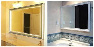 custom bathroom mirrors bathroom vanity wall mirrors vanity mirror hollywood lighted wall