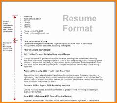 Example Of Resume To Apply Job Job Resume Format Free Resume Example And Writing Download