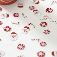 ginger ray christmas party table confetti scatter decoration