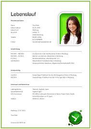 Resume In Deutsch Lebenslauf Muster Beispiel Muster Lebenslauf Vorlage Png 2479