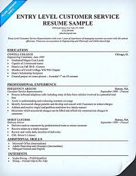 Entry Level Customer Service Resume Samples by Retail Customer Service Resume Sample Work Pinterest