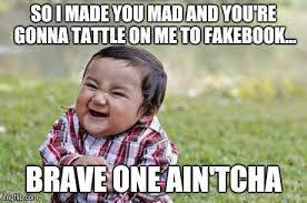 So You Mad Meme - evil toddler meme imgflip