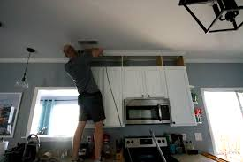 Kitchen Cabinet Top Molding by How To Extend Kitchen Cabinets To The Ceiling U2022 Charleston Crafted