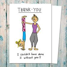 thank you card for thank you card for yogis and teachers by indieberries