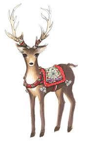 christmas deer free christmas reindeer lolly