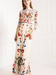 temperley london long cream toledo dress size 4 wedding dress