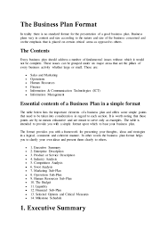 one page elevator pitch template bplans sample simple business