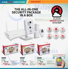 smart home systems sharp smart home systems starter kit alarm kit ip camera kit