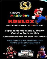 mario u0026 roblox fun coloring book super nintendo mario