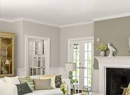 Two Tone Walls With Chair Rail Two Tone Living Room Walls Two Color Living Room Walls My Living