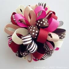 loopy bow m2m loopy hair bows r w bowtique