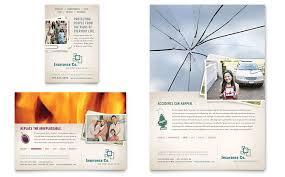 life insurance company flyer u0026 ad template design