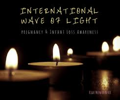 infant loss candles international wave of light pregnancy infant loss awareness