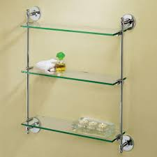 bathrooms design glass shelf bathroom decor shelves restroom