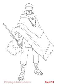 how to draw sasuke uchiha the last from naruto mangajam com