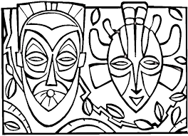 african animals coloring pages getcoloringpages