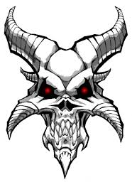 demon goat skull tattoo design in 2017 real photo pictures