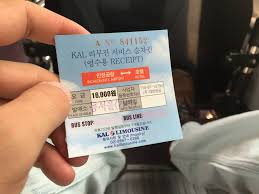 airport limo shuttle bus in south korea pricing u0026 experience
