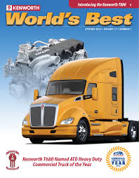kenworth mississauga parts kenworth t680 named atd heavy duty commercial truck of the year