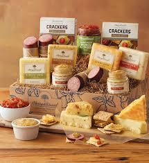 cheese baskets gourmet sausage and cheese gift meat and cheese gift baskets