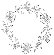detailed flower coloring pages and templates for kids niceimages org