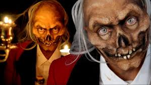 crypt keeper special fx halloween makeup tutorial youtube