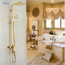 bronze shower set promotion shop for promotional bronze shower set