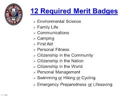 Family Merit Badge Worksheet Answers Eagle Candidate Seminar Ppt