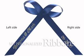 personalized ribbon for favors 12 00 for 100 3 8 personalized favor ribbons