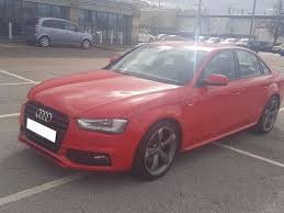 2013 audi a4 tdi s line black edition red facelift bargain cheap